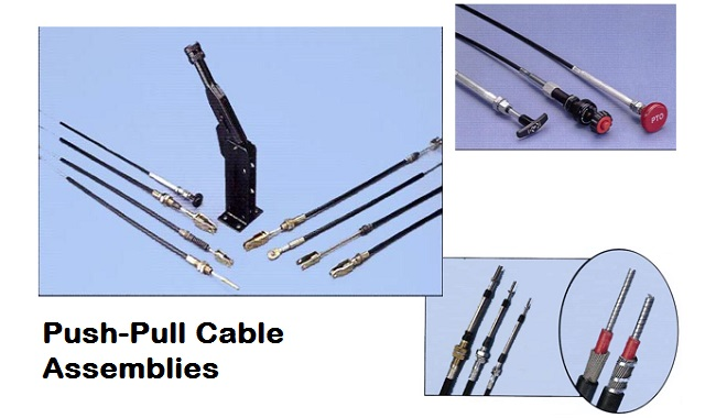 push-pull cable assemblies